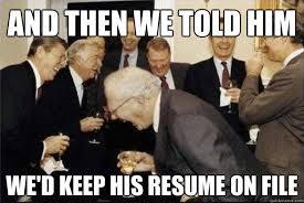 Resume on file